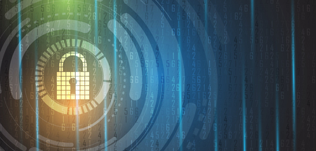 Cyber ??sécurité et information ou protection du réseau. Futurs services Web de cyber-technologie pour les projets commerciaux et Internet Vecteurs