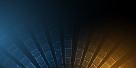 Digital technology world. Business virtual concept Stok Fotoğraf - 84194317