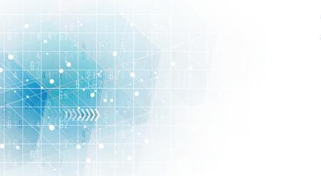 Résumé de fond hexagonal. Technologie de conception polygonale. minimalisme futuriste numérique. Vecteur Banque d'images - 84978835