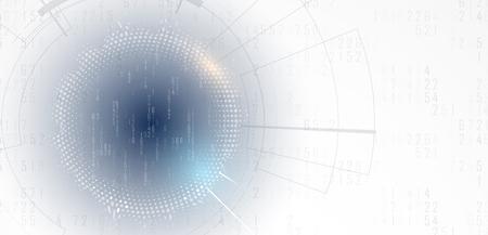 Digital technology world. Business virtual concept
