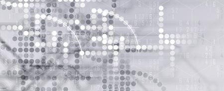 monde numérique de la technologie. Business concept virtuel