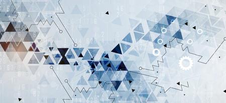 Concepto de red neuronal. Celdas conectadas con enlaces. Proceso de alta tecnología. Fondo abstracto