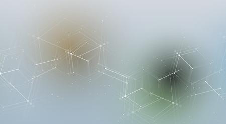 fondo futuristico astratto di affari di tecnologia del computer di dissolvenza