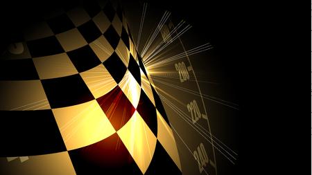 Fondo de velocidad de carreras, ilustración vectorial. Resumen de movimiento