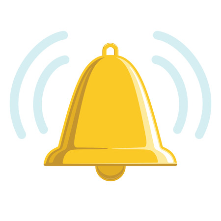 reminder icon: Chiming Golden Bell