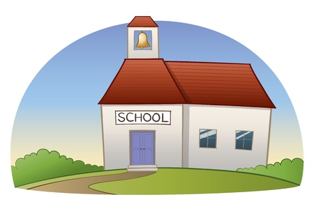 preschool classroom: Vector School Building