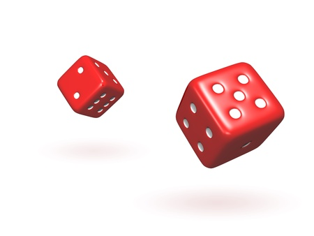 taking a risk: Bouncing Dice