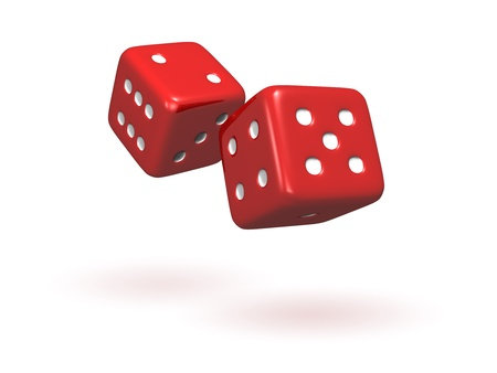 red dice: Rolling Dice
