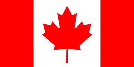 National Flag of Canada Background for editors and designers. National holiday Stockfoto