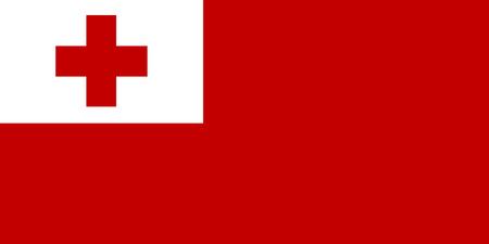 National flag of Tonga Background  with flag of Tonga.