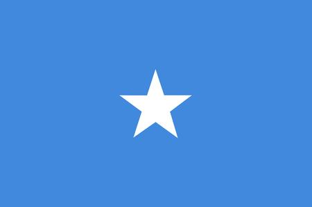 National flag of Somalia. Background  with flag of Somalia.