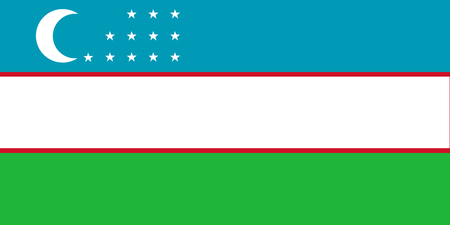 National flag of Uzbekistan. Background  with flag of -Uzbekistan.