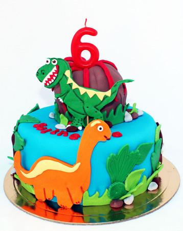 Jurassic park cake design