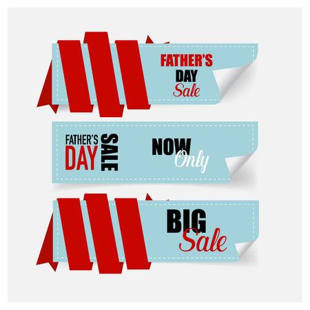 促销优惠券,代金券,标签。祝您父亲节快乐。