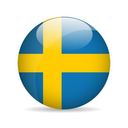 sweden: Flag of Sweden. Vector illustration Illustration