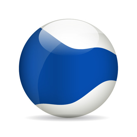 pearly: Modern ball. Vector illustration