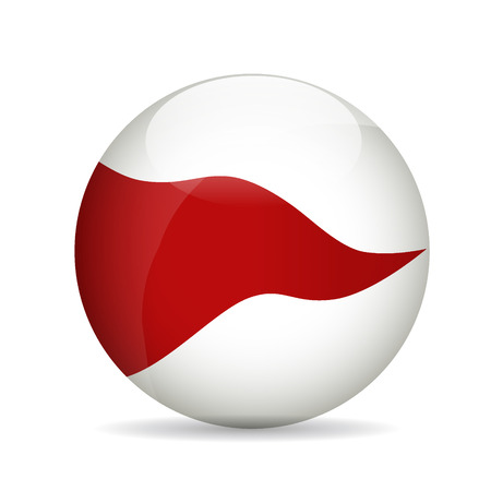 Modern ball. Vector illustration