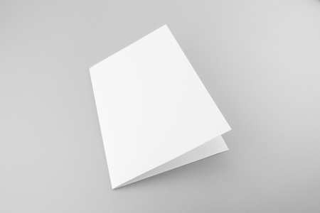 Blank catalog, magazine, book template with soft shadows. Ready for your design