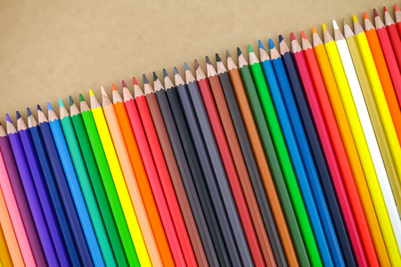 Colour pencils Banco de Imagens