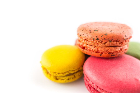 Sweet and colourful macaroons