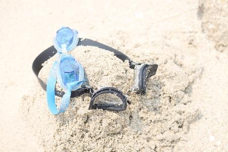 goggles: Swimming goggles Stock Photo