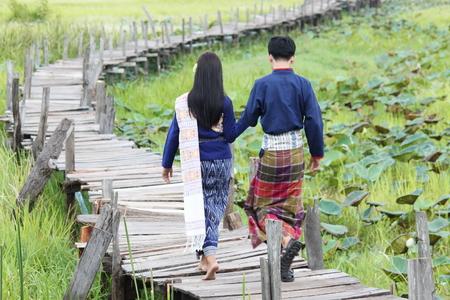 wooden bridge: wooden bridge