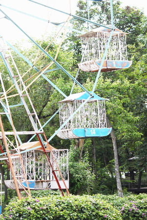 play the old park: ferris wheel