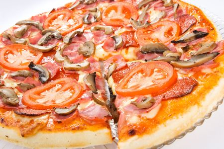 Picture of pizza photo