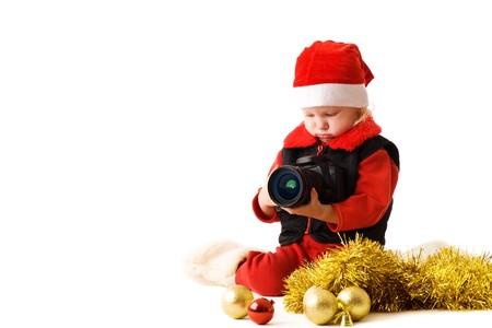 child with camera Stock Photo - 3942335
