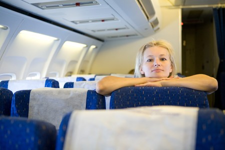 airplane girl: girl in the airplane