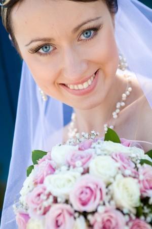 portrait of the bride photo