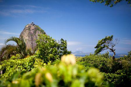Mountain Zuckerhut in Rio De Janeiro  Standard-Bild