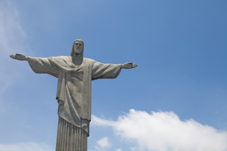 Statue of Cristo in Rio de Janeiro 版權商用圖片
