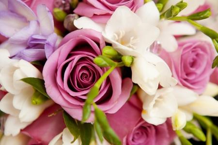 Blumenstrauß als Hintergrund