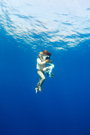 love underwater  photo