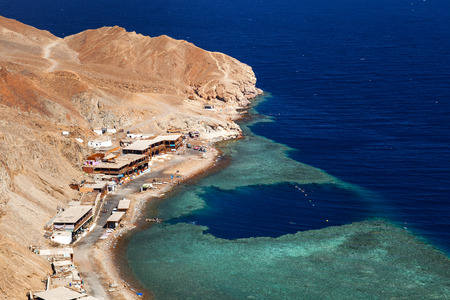 great hall: view from mountain to Red sea