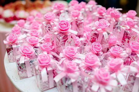 wedding gift for guest 免版税图像 - 125976910