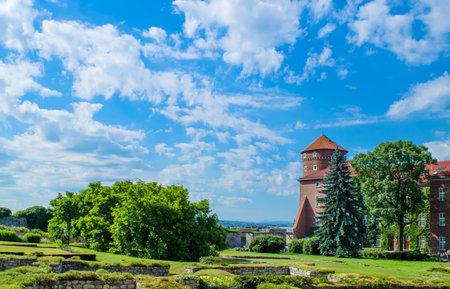 Wawel Castle Garden