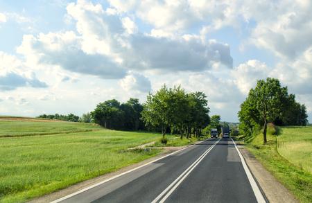 Country Road Foto de archivo