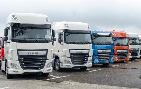 DAF XF Euro 6 Trucks Editorial