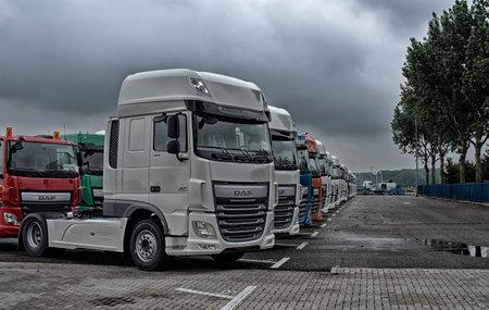 Daf Trucks Editorial