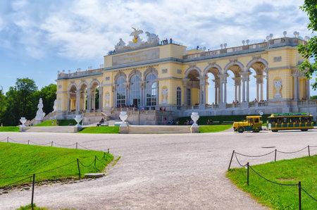 Schonbrunn garden Editorial