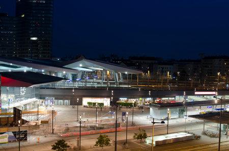 Vienna main railway station