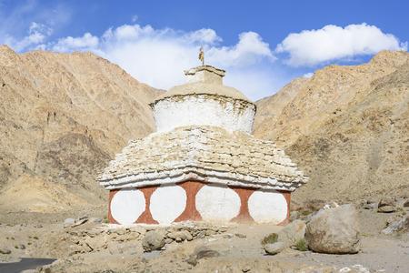 stupas: Stupas around Leh Ladakh, India