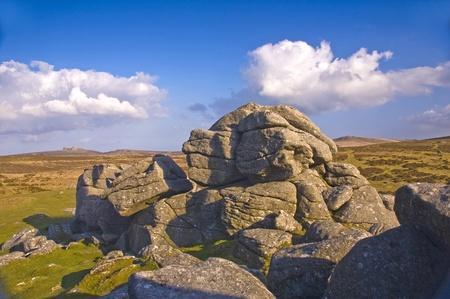Dartmoor England Rock Formation