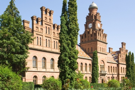 Yuriy Fedkovych Chernivtsi National University. Today in the university there are 16 colleges. Stock Photo - 3947154