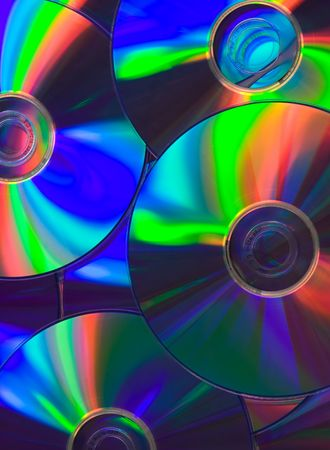Compact disc background photo