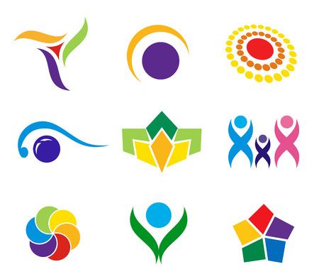 Colección de iconos y logotipes