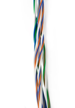 Twisted wire Stock Photo - 4221301