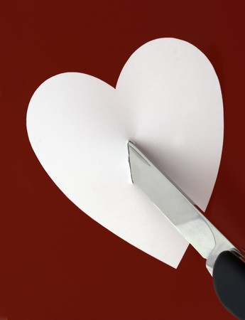 dead end: Knife and heart